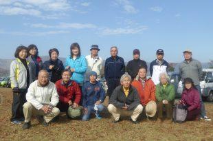 スケッチ研修は阿蘇で実施18名の支部員が参加