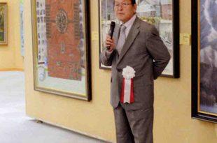 70周年記念展 巡回長岡展 土田先生ご挨拶