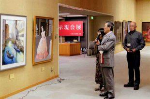 70周年記念展 巡回長岡展 土田先生による作品講評会