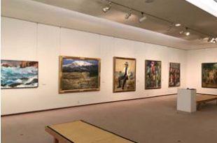 加藤栄三・東一美術館で開催した岐阜支部正会員展