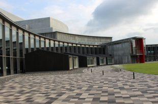 支部展会場・上田市美術館サントミューゼ
