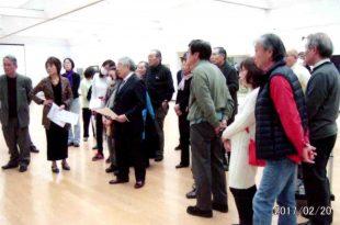 京都作家展 批評会風景 平成29年2月 於・美術館別館