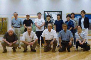 第31回示現会長野県支部展会場にて