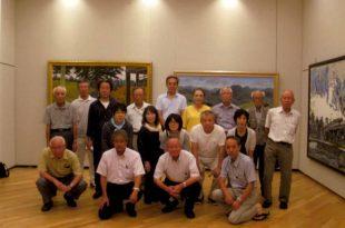 長野県支部会員集合写真 平成二十八年八月十七日
