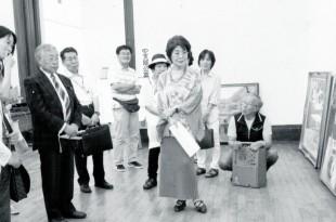 第六十七回示現会京都展に併催の 支部公募作品に対する、常務理 事・成田禎介先生による批評ス ナップ